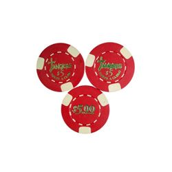 Casino Tangier's Casino Chips Movie Props