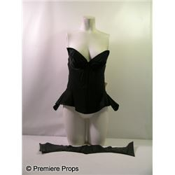 """Batman & Robin"" Batgirl corset prototype"