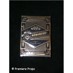 Now You See Me Monarchs Playing Cards Movie Props