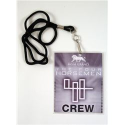 Now You See Me MGM Grand Four Horsemen Lanyard Movie Props