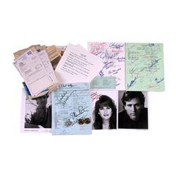 Soap Opera Autographed Scripts