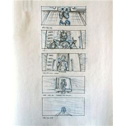 Ghosts of Mars Storyboards (three sets)