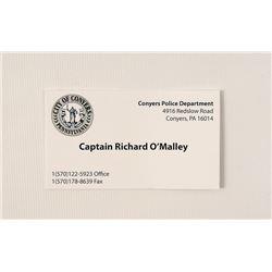 Prisoners Captain O'Malley (Wayne Duvall) Movie Props