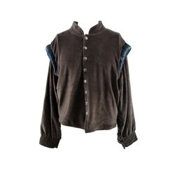 Museum Replica Brown Padded Shirt Movie Costume