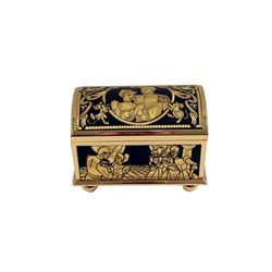 Sleeping Beauty Gold Trinket Box Movie Collectible