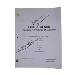 Lois And Clark The New Adventures Of Superman Autographed Script
