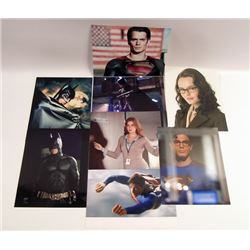 DC Comic Feature Film Photo Set - Man Of Steel/Batman