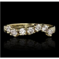 14KT Yellow Gold 0.42ctw Diamond Ring GB4637
