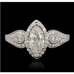 14KT White Gold 1.27ctw Diamond Ring RM1893