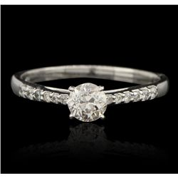 14KT White Gold 0.92ctw Diamond Ring GB3303