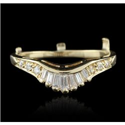 14KT Yellow Gold 0.32ctw Diamond Ring GB2726