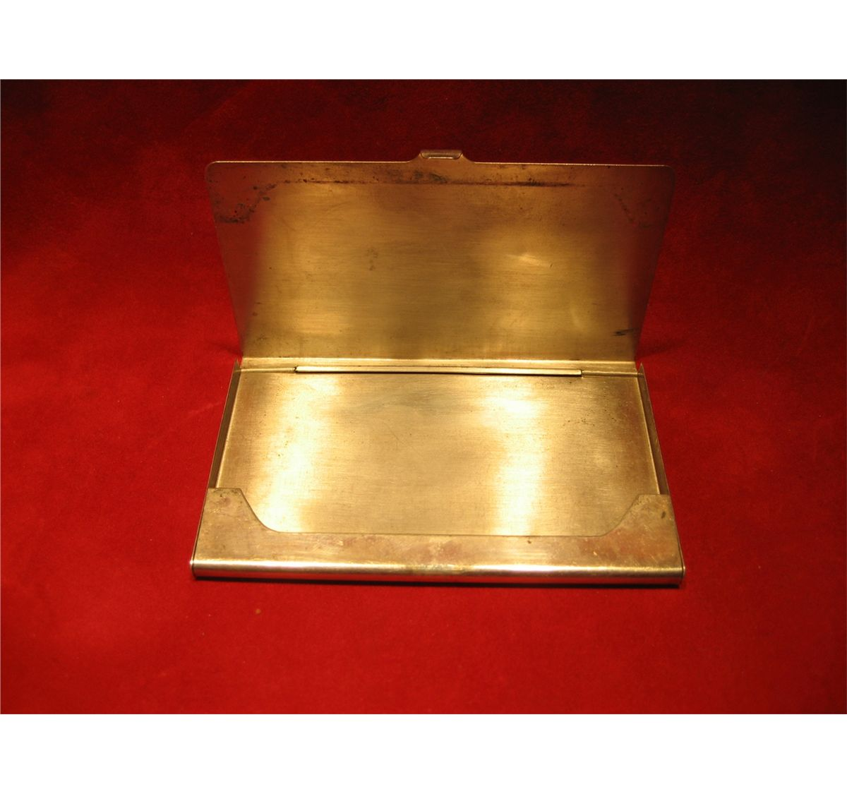 STERLING SILVER TIFFANY BUSINESS CARD HOLDER