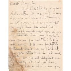 Actress Marion Davies Autograph Letter Signed