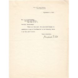 American Entrepreneur Marshall Field Typed Letter Signed