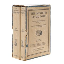 Rare First Edition The Lafayette Flying Corps Signed by Members of the Corps
