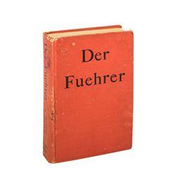 Rudolf Hess Signed Der Führer