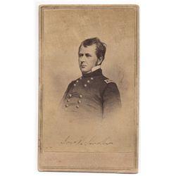 Joseph Hooker Civil War Carte de Visite