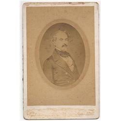 Robert E. Lee Carte de Visite Signed by Mildred Lee