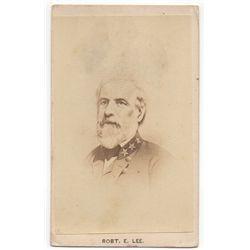 Robert E. Lee Carte de Visite as General of the Confederate Army