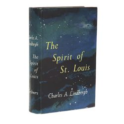 The Spirit of St. Louis First Edition Signed by T. Claude Ryan, Otto Tim & Bud Gurney