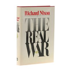 Richard Nixon Signed First Edition of The Real War