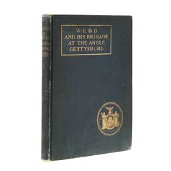 Rare First Edition Webb and His Brigade at the Angle Gettysburg
