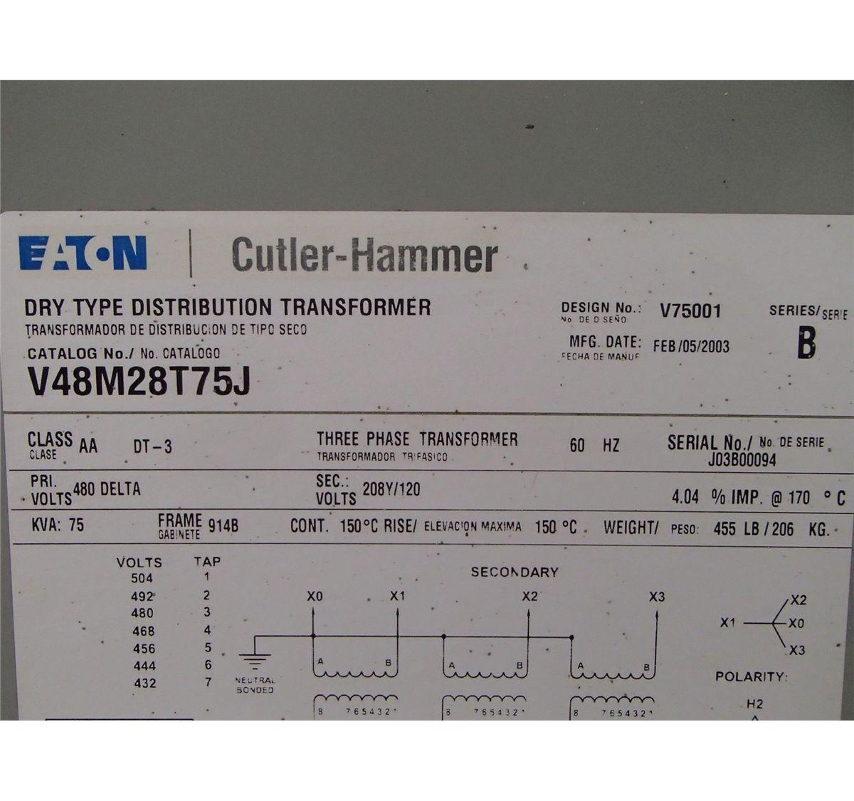 Cutler Hammer Transformer Wiring Diagrams