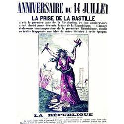 Anniversaire Du 14 Juillet La Prise De La Bastille La Republique