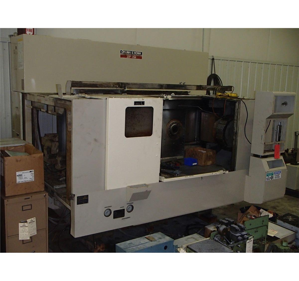 Okuma & Howa Lathe CNC Lathe Model 2SP-35H - Parts