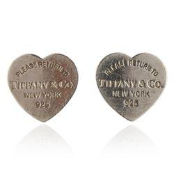 Tiffany & Co Heart Shaped Earrings GB3099