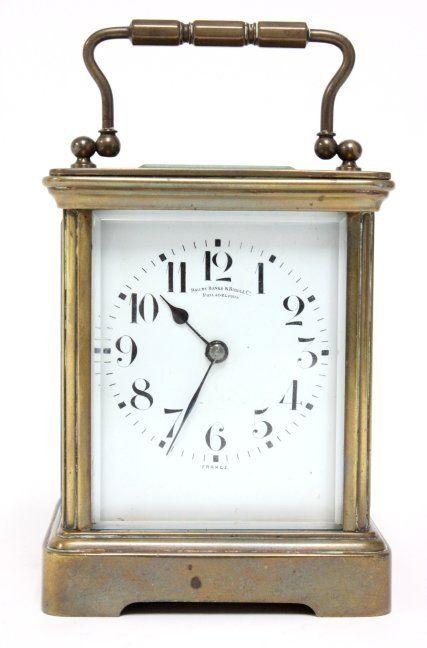 Bailey Banks Biddle Carriage Clock