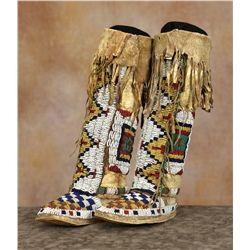 Sioux Child's Beaded Boots