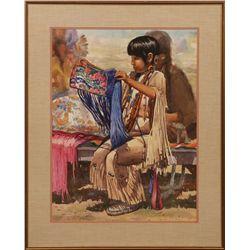 Joseph Bohler, watercolor