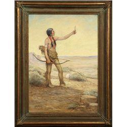 Carl Moon, oil on canvas