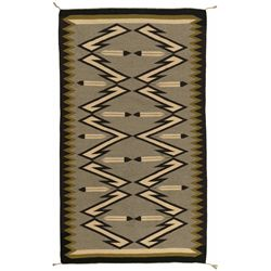 "Navajo Weaving, 4'5"" x 2'7'"