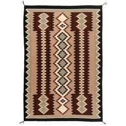 "Navajo Weaving, 7'3"" x 4'11"""
