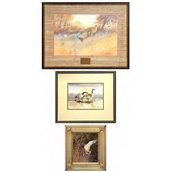 Robert Morgan, three works