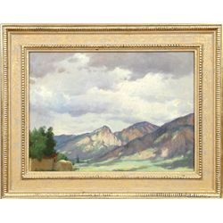 Joseph Henry Sharp, oil on canvas