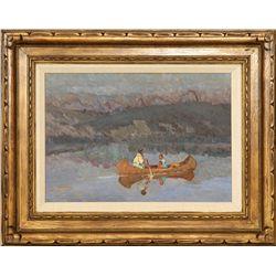 Sheryl Bodily, oil on canvas