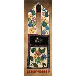 Ojibwa Beaded Bandolier Bag
