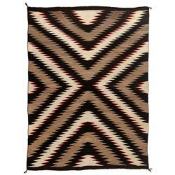 "Navajo Weaving, 6'8"" x 5'1"""