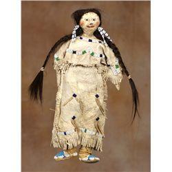 Northern Cheyenne Beaded Doll