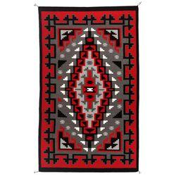 "Navajo Weaving, 8'4"" x 5'1"""