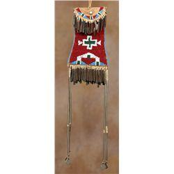 Kiowa Beaded Strike-a-Lite Bag