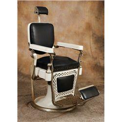 Vintage Emil J. Paidar Barber Chair
