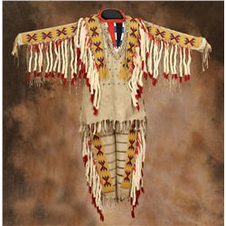 Blackfoot Beaded Shirt and Leggings