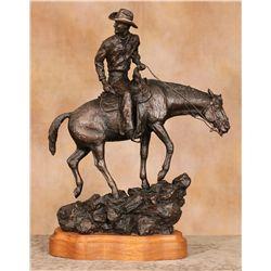 Tuffy Berg, bronze