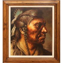 Jorge Braun Tarallo, oil on canvas
