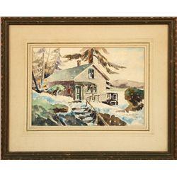 Ted Lambert, watercolor