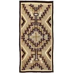"Navajo Weaving, 7'10"" x 3'10"""